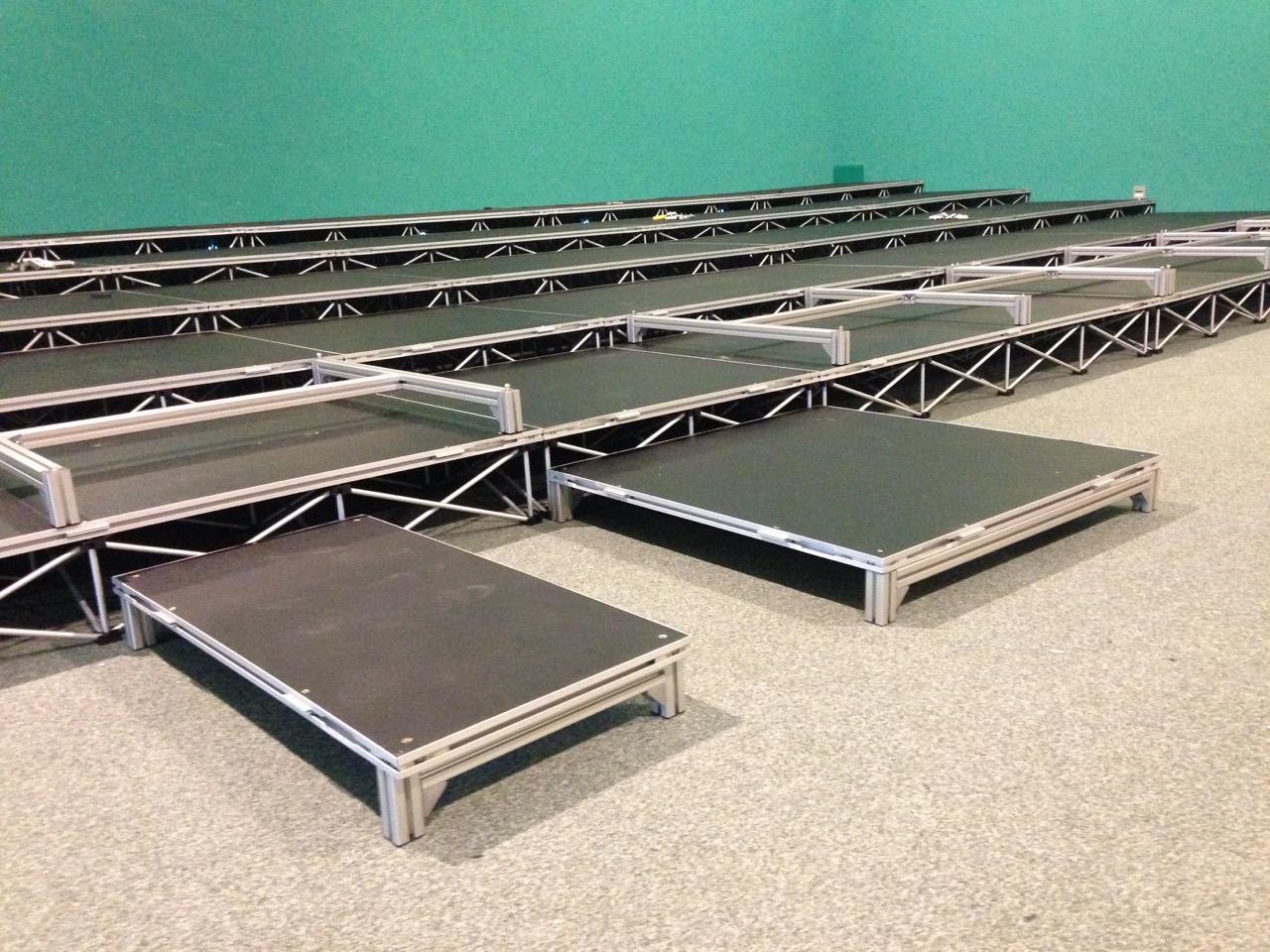 Scène IntelliStage Sur Mesure hauteur - de 20 cm ou +3, +4, +5, +6 cm